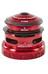 Sixpack Fire 2in1 - Jeu de direction semi intégré - ZS44/28.6 I EC49/40 rouge